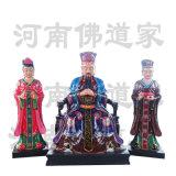 南岳圣帝神像塑像 南岳大帝神像 安邦护国大天尊像