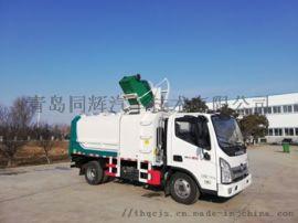 同辉汽车9方侧装挂桶垃圾车QTH5078ZZZA