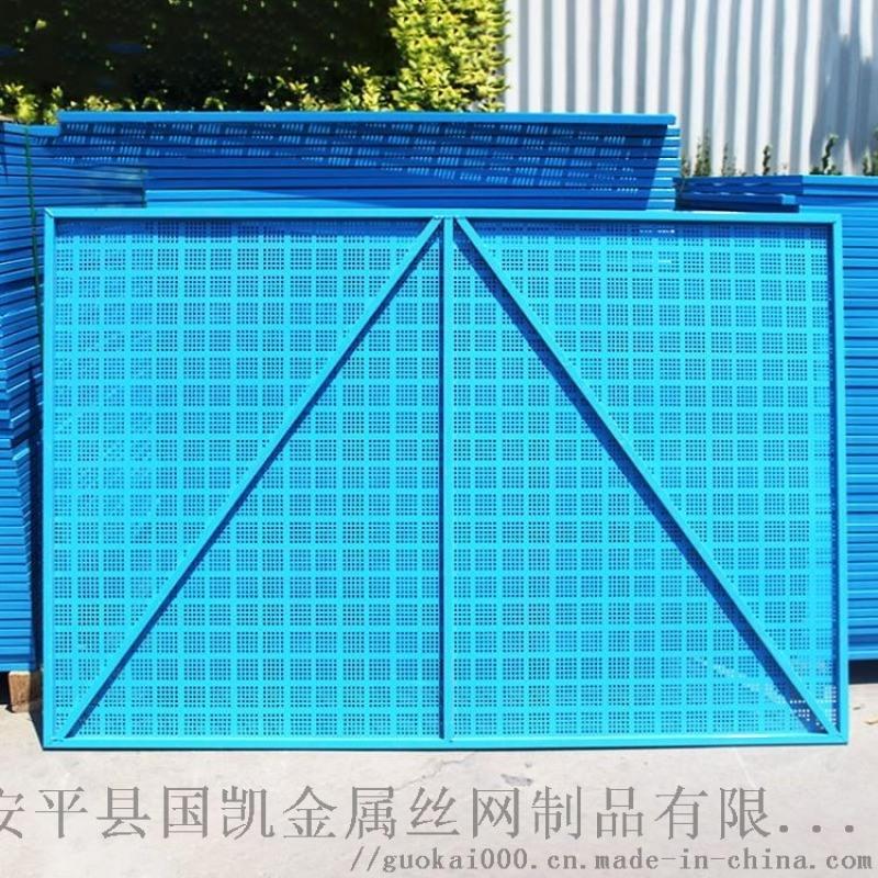 濮阳高层建筑圆孔防护网 提升脚手架爬架网