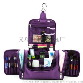 旅行洗漱包便携化妆包大容量简约多功能收纳包出差旅行