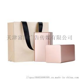 天津白卡纸手提袋礼品袋制作 纸袋logo服装纸袋购物纸袋定制找富国**价格