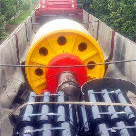 固定式一米皮帶鑄膠主驅動滾筒 630主驅動滾筒