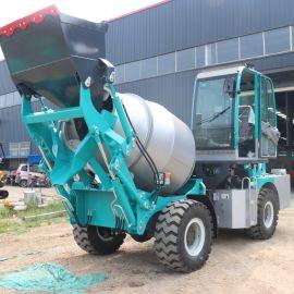厂家供应 农用水泥搅拌车 自上料搅拌运输车