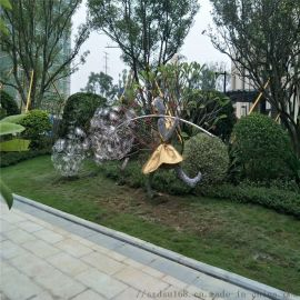 鐵艺雕塑-公园雕塑-按需定做