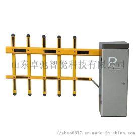 智能直杆栅栏杆道闸机广告道闸机厂家直供