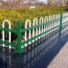 云南红河草坪pvc护栏 绿化护栏公司