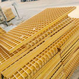 玻璃钢聚氨酯格栅盖板 用于地沟养殖场寿命长