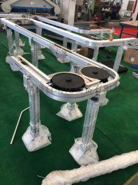 螺旋机83w柔性链板输送线
