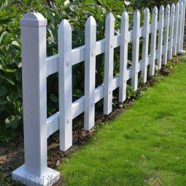 pvc草坪护栏,现货尺寸0.4/0.6/0.8米高
