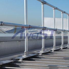 厂家**铝合金屋面护栏 可量身定制