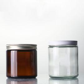 棕色玻璃罐,玻璃瓶,蜡烛罐