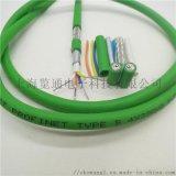PN专用网线-绿色4芯profinet标准电缆