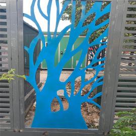 南城商业楼外墙镂空铝单板 长安门头雕花镂空铝单板