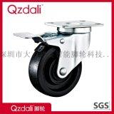 中型鍍鋅黑色高溫腳輪