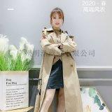 2020高端女裝品牌巴格寶莉時尚風衣一手資源
