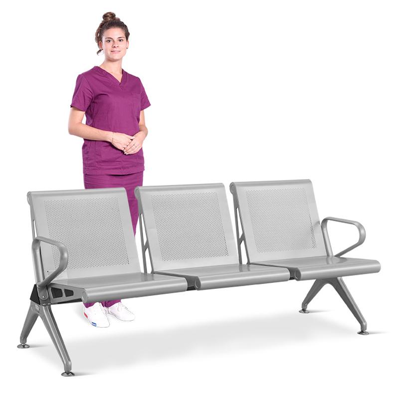 SKE008-1 候診椅 不鏽鋼排椅 銀行連排椅