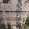 房地產公司用排水鏈 純銅雨鏈源頭生產廠家