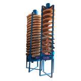 溜槽選礦設備 洗煤泥螺旋溜槽