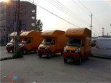 国六唐骏电动广告车,电动广告车