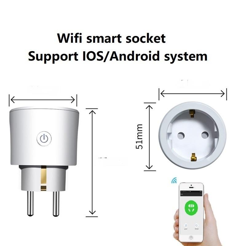 工廠生產歐規智慧插座 手機app遠程控制
