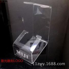 亚克力展示架 直发器卷发器支撑架 美容仪透明架子