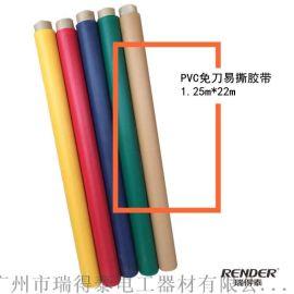 瑞得泰PVC易撕包装胶带半成品免刀易撕胶带