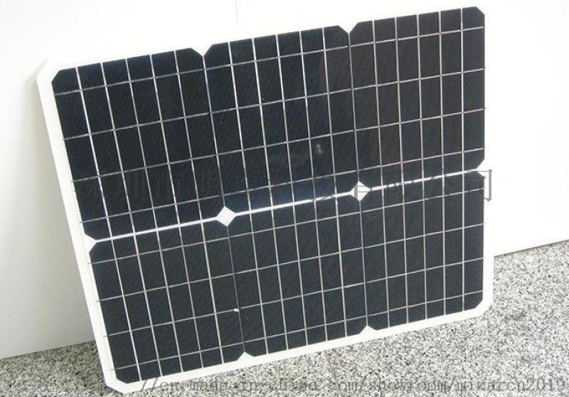 单晶层压太阳能电池板 柔性车载太阳能电池板