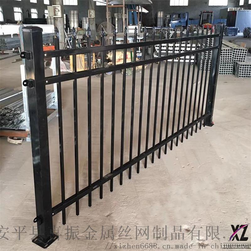 新型圍牆護欄@獨山鋅鋼護欄產品@多規格圍牆欄杆