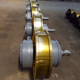 锻钢车轮组 台车车轮组 700*180双梁行车轮