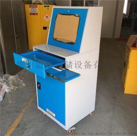 工业机柜 雕刻车间防尘标准电脑机柜可移动立式电脑柜