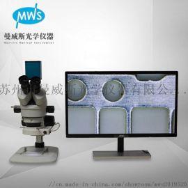 厂家直销 可连续变倍 拍照储存测量的三目立体显微镜