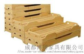 德阳幼儿园重叠床 绵阳实木重叠床厂家