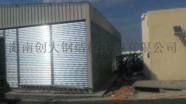 昌江钢结构实验室,活动房手术室安装工程