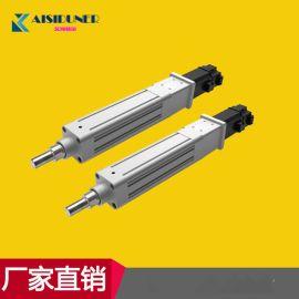 行程300MM微型折电动缸电动推杆多**度运动平台