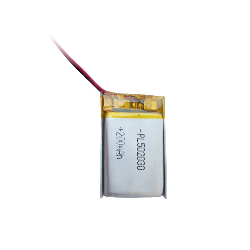 250mAh耳机计步器PL502030聚合物电池