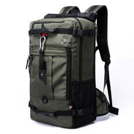 过峰雕 健身包男旅行手提行李包女旅游包训练运动包单肩行李袋50L