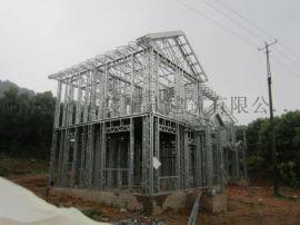 河南宝丰县新型钢结构别墅