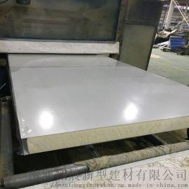聚氨酯彩钢夹芯板 聚氨酯屋面瓦楞夹芯板 冷库板