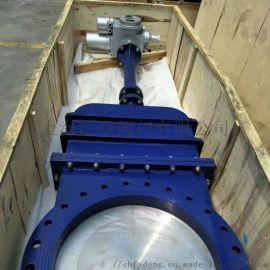 過污水不銹鋼工業刀閘閥門