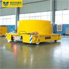 电缆式定制吨位搬运钢渣车轨道平车