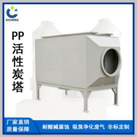 云南PP活性炭塔喷淋塔洗涤塔旋流塔废气处理设备厂家直销
