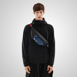 YGM春秋 光版黑色运动休闲薄外套帅气百搭反光夹克