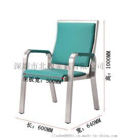 电厂用304不锈钢监盘椅(带西皮坐垫)
