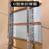 山西加油站工程鋁條扣吊頂 國企加油站吊頂裝飾材料