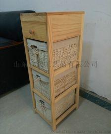 厂家直销松木收纳柜木质实木收纳柜定制
