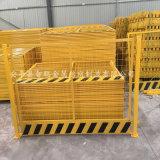 黄色基坑 黄色网片 基坑工地施工围挡