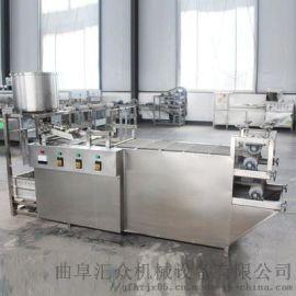 豆皮生产线 豆腐皮设备与价格 利之健食品 豆腐机生