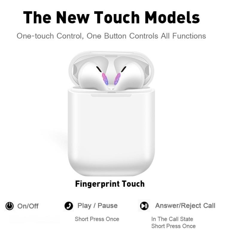 生产厂家TWS蓝牙耳机 供应商 Siri 弹窗触摸