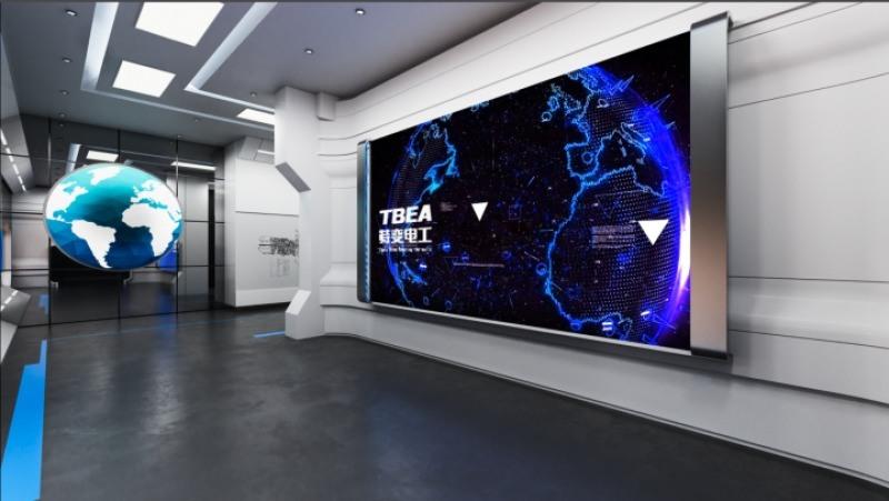 河南企业展厅装修设计公司,郑州企业展厅布局细节规划