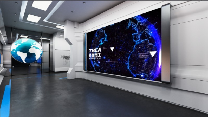 河南企業展廳裝修設計公司,鄭州企業展廳佈局細節規劃